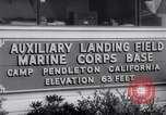 Image of Marine Recon unit skydivers California United States USA, 1958, second 6 stock footage video 65675027978
