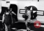 Image of Marine Recon unit skydivers California United States USA, 1958, second 7 stock footage video 65675027978
