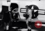 Image of Marine Recon unit skydivers California United States USA, 1958, second 8 stock footage video 65675027978