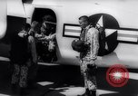 Image of Marine Recon unit skydivers California United States USA, 1958, second 9 stock footage video 65675027978