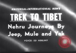 Image of Jawaharlal Nehru Tibet, 1958, second 1 stock footage video 65675027981