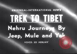 Image of Jawaharlal Nehru Tibet, 1958, second 3 stock footage video 65675027981