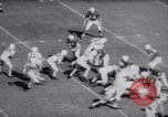 Image of Air Force versus Stanford in college football 1958 Palo Alto California USA, 1958, second 10 stock footage video 65675027985