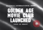 Image of Golden age movie club New York United States USA, 1958, second 1 stock footage video 65675027987