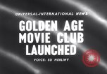Image of Golden age movie club New York United States USA, 1958, second 2 stock footage video 65675027987