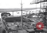 Image of launch of ship tank Holland Netherlands, 1958, second 6 stock footage video 65675027989