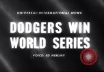 Image of 1959 baseball World series Chicago Illinois USA, 1959, second 3 stock footage video 65675027990