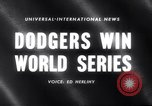 Image of 1959 baseball World series Chicago Illinois USA, 1959, second 4 stock footage video 65675027990