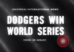 Image of 1959 baseball World series Chicago Illinois USA, 1959, second 5 stock footage video 65675027990