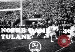 Image of football match South Bend Indiana USA, 1949, second 1 stock footage video 65675028002