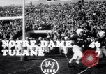 Image of football match South Bend Indiana USA, 1949, second 2 stock footage video 65675028002