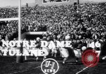 Image of football match South Bend Indiana USA, 1949, second 3 stock footage video 65675028002