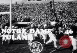 Image of football match South Bend Indiana USA, 1949, second 4 stock footage video 65675028002
