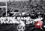 Image of football match South Bend Indiana USA, 1949, second 5 stock footage video 65675028002