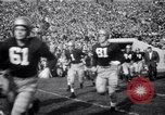 Image of football match South Bend Indiana USA, 1949, second 7 stock footage video 65675028002