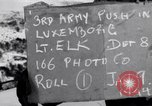 Image of third army Luxembourg, 1945, second 4 stock footage video 65675028005