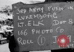 Image of third army Luxembourg, 1945, second 5 stock footage video 65675028005