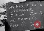 Image of third army Luxembourg, 1945, second 6 stock footage video 65675028005