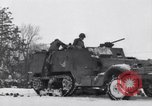 Image of tenth armored infantry Bastogne Belgium, 1945, second 4 stock footage video 65675028006