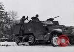 Image of tenth armored infantry Bastogne Belgium, 1945, second 7 stock footage video 65675028006