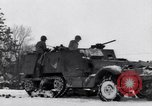 Image of tenth armored infantry Bastogne Belgium, 1945, second 10 stock footage video 65675028006