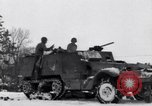 Image of tenth armored infantry Bastogne Belgium, 1945, second 11 stock footage video 65675028006