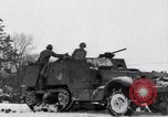 Image of tenth armored infantry Bastogne Belgium, 1945, second 12 stock footage video 65675028006