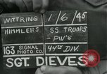 Image of United States soldiers Wittering Germany, 1945, second 3 stock footage video 65675028021