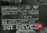 Image of United States soldiers Wittering Germany, 1945, second 4 stock footage video 65675028021
