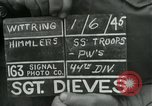 Image of United States soldiers Wittering Germany, 1945, second 5 stock footage video 65675028021