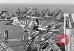 Image of Handling of jet aircraft on carrier flight deck United States USA, 1951, second 1 stock footage video 65675028028