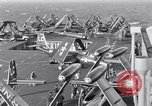 Image of Handling of jet aircraft on carrier flight deck United States USA, 1951, second 3 stock footage video 65675028028