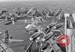 Image of Handling of jet aircraft on carrier flight deck United States USA, 1951, second 5 stock footage video 65675028028
