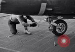 Image of McDonnell F2H  Banshee aircraft United States USA, 1951, second 2 stock footage video 65675028029