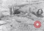 Image of wreckage on beachhead Majuro Marshall Islands, 1944, second 1 stock footage video 65675028038