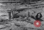 Image of wreckage on beachhead Majuro Marshall Islands, 1944, second 3 stock footage video 65675028038