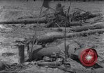 Image of wreckage on beachhead Majuro Marshall Islands, 1944, second 4 stock footage video 65675028038
