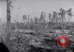 Image of wreckage on Island Marshall Islands, 1944, second 11 stock footage video 65675028039