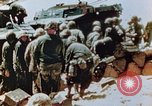 Image of Marines on beachhead Saipan Northern Mariana Islands, 1944, second 1 stock footage video 65675028041