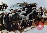 Image of Marines on beachhead Saipan Northern Mariana Islands, 1944, second 3 stock footage video 65675028041