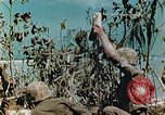 Image of Marines treat wounded Saipan Northern Mariana Islands, 1944, second 5 stock footage video 65675028042