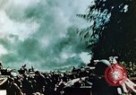 Image of U.S. Marines on beachhead Saipan Northern Mariana Islands, 1944, second 10 stock footage video 65675028043