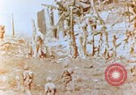 Image of U.S. marines in battle of Saipan Saipan Northern Mariana Islands, 1944, second 3 stock footage video 65675028047
