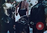 Image of Evacuating a wounded U.S. marine Saipan Northern Mariana Islands, 1944, second 5 stock footage video 65675028049