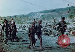 Image of Japanese prisoners of war Saipan Northern Mariana Islands, 1944, second 1 stock footage video 65675028052