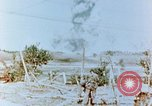 Image of U.S. Marines detonate demolition charge Saipan Northern Mariana Islands, 1944, second 2 stock footage video 65675028053