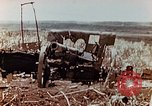 Image of Wrecked Japanese artillery pieces Saipan Northern Mariana Islands, 1944, second 4 stock footage video 65675028056