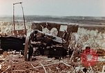 Image of Wrecked Japanese artillery pieces Saipan Northern Mariana Islands, 1944, second 6 stock footage video 65675028056