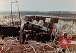 Image of Wrecked Japanese artillery pieces Saipan Northern Mariana Islands, 1944, second 7 stock footage video 65675028056