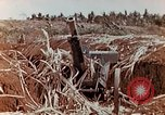 Image of Wrecked Japanese artillery pieces Saipan Northern Mariana Islands, 1944, second 9 stock footage video 65675028056